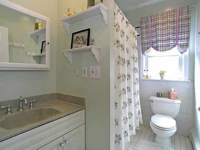 Second floor bath original